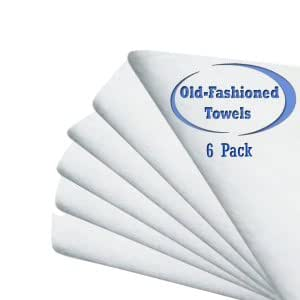 Amazon.com: Old-Fashioned Cotton Flour Sack Dish Towels 30