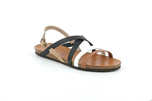 Demy multi Sandalo P Grunland SB0712 Donna Nero TwZHgU5qx