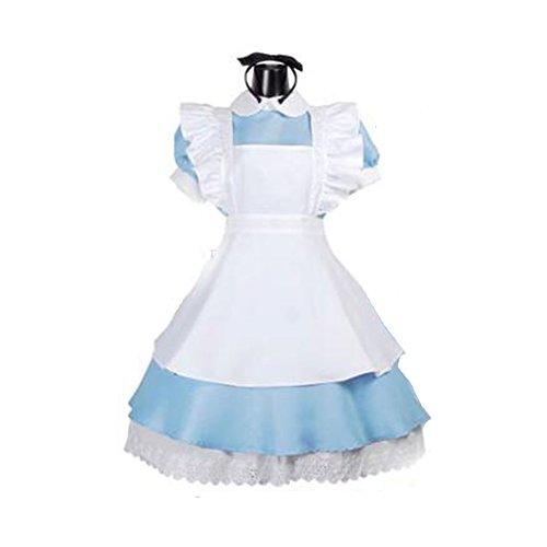 Cos store Womens Alice in Wonderland Costume Kids Fairytale Ddress Up M/L siz -