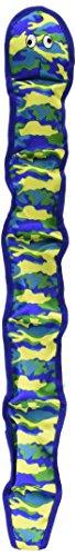 Image of PetLou Seawarrior Snake Durable Plush Soft Squeak Interactive Dog Chew Toy 13