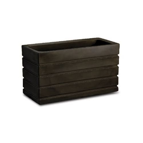 Latin Spirit EP-LSLIM-BRZ-3610 36.5 x 10 x 12 in. Lima Rectangular Planter44; Dark Bronze by Latin Spirit