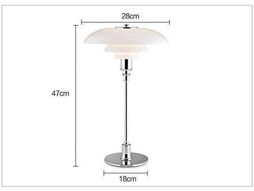 Slap-up Moderno Lámparas de mesa de cristal led para dormitorio ...