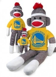 Golden State Warriors Nba Sock Monkey