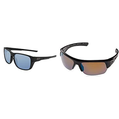 f46f70502 Amazon.com: Under Armour UA TUNED Sunglass Pack (55mm Recovery Glimpse +  74mm Baseball Strive): Clothing