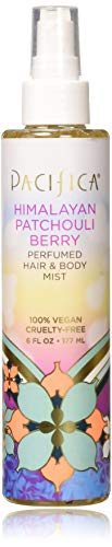 Pacifica Beauty Perfumed Hair & Body Mist, Himalayan Patchouli Berry, 6 Fluid Ounce - Fragrance Himalayan Rose