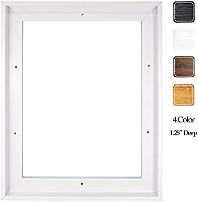 "Illusions Canvas Finished Art Floater Frame 3//4/"" Deep Canvas For Float Effect"
