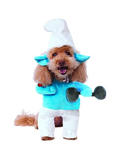 (Rubie's Costume Co Smurfs The Lost Village Walking Hefty Smurf Pet Costume,)
