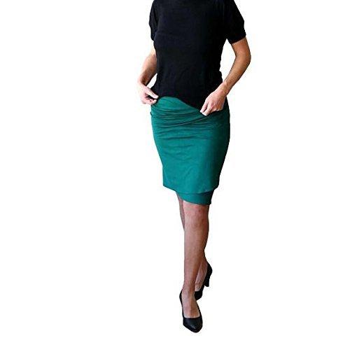 Wrap skirt, Pencil skirt, Plus size skirt, Womens skirt, Green skirt, Plus size, Plus size clothing, Fitted skirt, Knee length skirt
