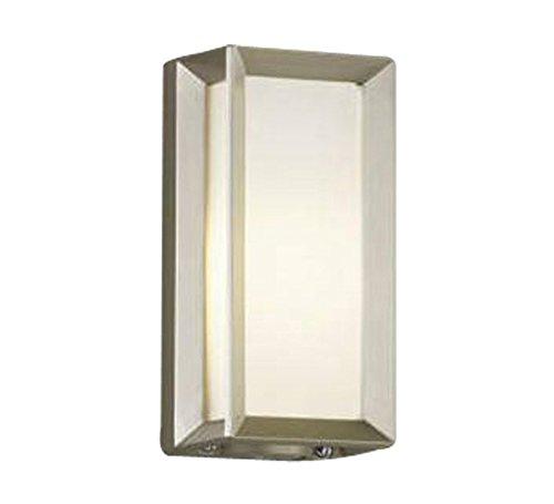コイズミ照明 自動点滅器付ポーチ灯 壁付門柱取付  ウォームシルバー AU40412L B00KVWJF8U 10663