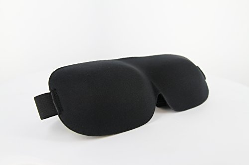 Travelrest Tranquility Sleep Mask, Ear Plugs & Carry Pouch Most Comfortable!