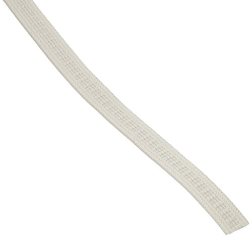 Dritz 9405W Non-Roll Woven Elastic, White, 1/2-Inch by 30-Yard