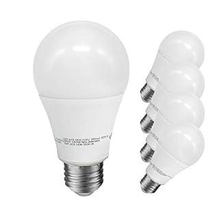 JULLISON A19 LED Light Bulb, 14W, 1500 Lumens, 100W Equivalent, 3000K Warm White, CRI80+, Non-dimmable, E26 Base, UL-Listed(4-Pack)