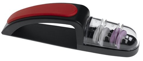 Global MinoSharp 440/BR Ceramic Wheel Water Sharpener Plus : Great for  knives, and works fine on typical steel kitchen knives