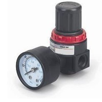 FidgetKute BR2000 Pneumatic Air Pressure Regulator G1/4'' with Gauge and Bracket by FidgetKute