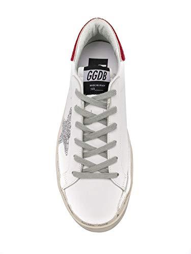 Goose Golden Zapatillas Cuero G34ws945b2 Blanco Mujer d88qS7