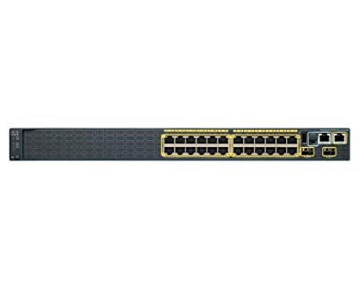 Cisco Catalyst Stackable Ethernet Switch (WS-C2960S-24PS-L)