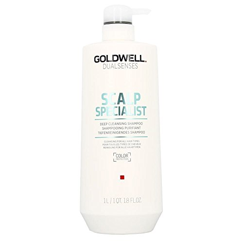 (Goldwell Dual Senses Scalp Specialist Deep Cleansing Shampoo (Cleansing For All Hair Types) 1000ml/33.8oz)