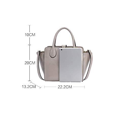 Simple Bag Lady Rétro Tempérament Charme Élégant Classique Noble Red x77rY