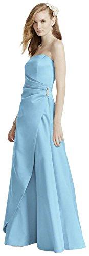 Buy capri color bridesmaid dresses - 5