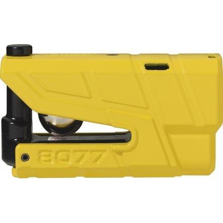 Abus Granit Detecto X-Plus 8077 Alarm Disc Lock (YELLOW)