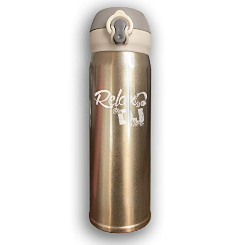 Thermoses Stainless Steel Coffee Mug Relax The DJ