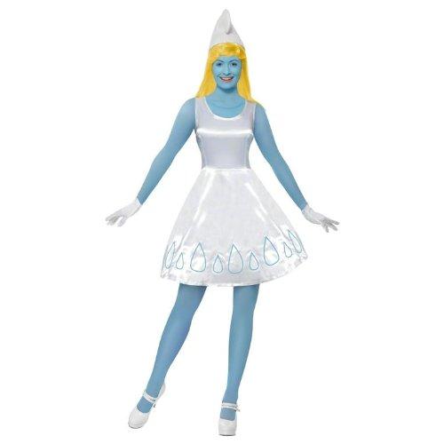 Smiffy's Smurfette Costume, Deluxe X Small