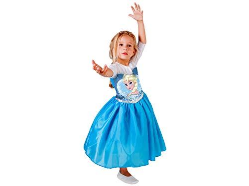 Fantasia Elsa Standard G - Pacote Com 01 Un Regina Colorida