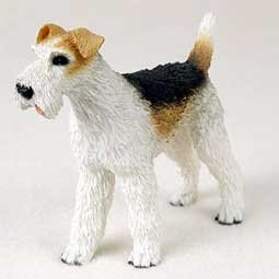 Figurine Terrier (Fox Terrier - Wirehaired - Figurine)