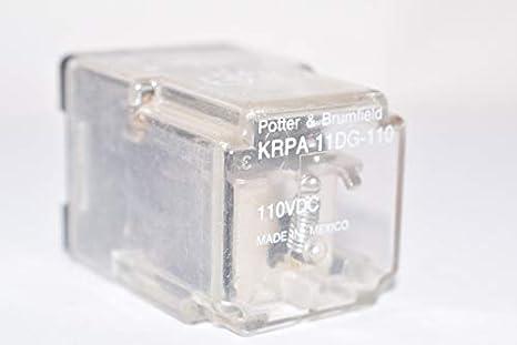 Potter /& Brumfield KRPA-11DG-24 Relay