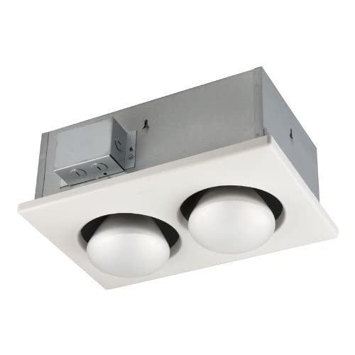 Broan 163 Type IC Infrared Two-Bulb Ceiling Heater, 250 Watt hot sale