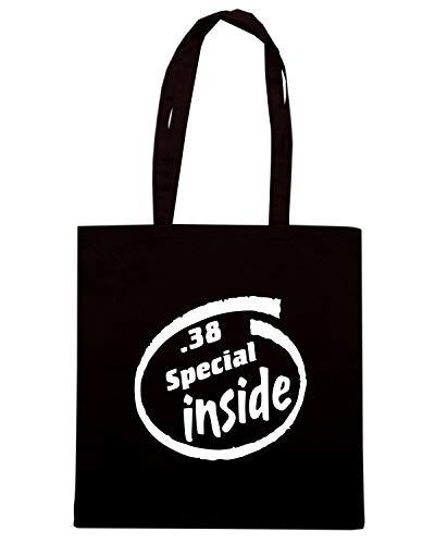 Speed Shirt Borsa Shopper Nera FUN0322 38 SPECIAL INSIDE