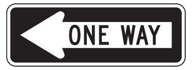 Metal traffic Sign: 36