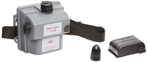 3M Air-Mate Belt-Mounted High Efficiency Powered Air Purifying Respirator(PAPR) Assembly 231-01-30 1/cs, Small Size (Air Belt 3m Mate)