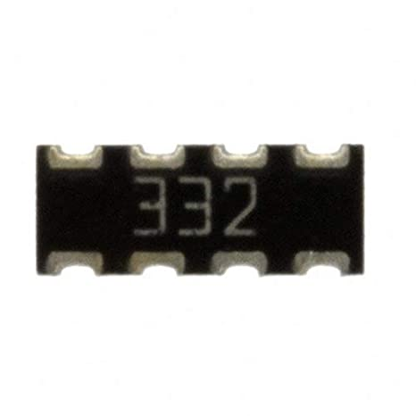 743C083332JP RES ARRAY 4 RES 3.3K OHM 2008 Pack of 100