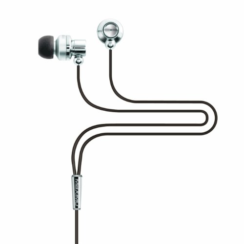 Maximo iM-390 iMetal Isolation Earphones (Silver)