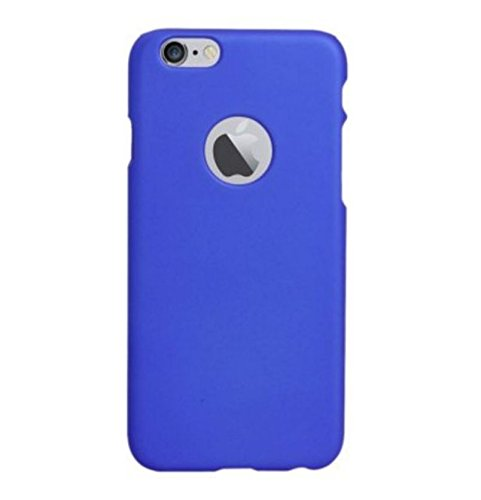 Chevron Hard Back Cover Case for Apple iPhone 6S Plus (Deep Blue)