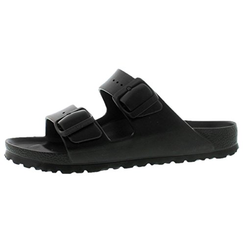 Birkenstock Unisex Arizona Essentials EVA Black Sandals - 38 N by Birkenstock