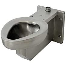 Toilet Wall Satin Stainless Steel R2105-T-1