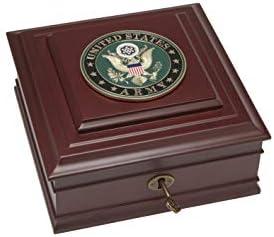 Allied Frame Us Army Medallion Desktop Box Home Kitchen Amazon Com