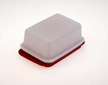 Kühlschrank Butterdose : Tupperware butterdose butterschatz weiß schwarz c butter