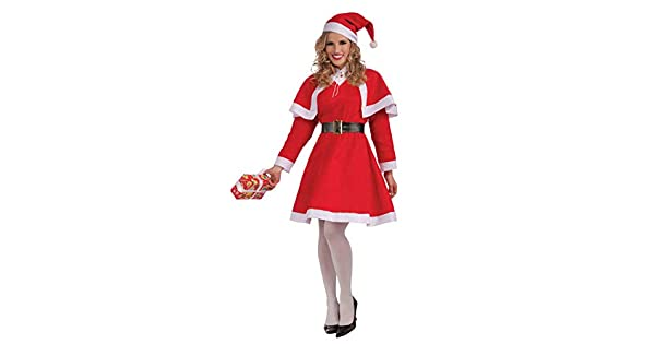 Amazon.com: Forum Novelties Disfraz de Miss de Papá Noel de ...