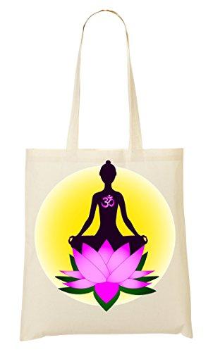 Bag Borsa Meditazione Della Acquisto Loto UqFwAT