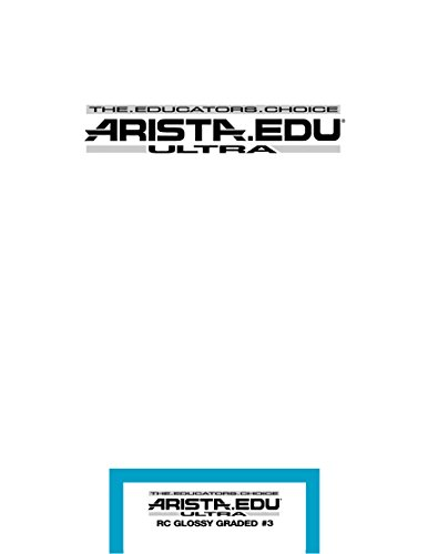 Arista EDU Ultra RC Black & White Photographic Paper, Glossy #3, 8x10, 25 Sheets