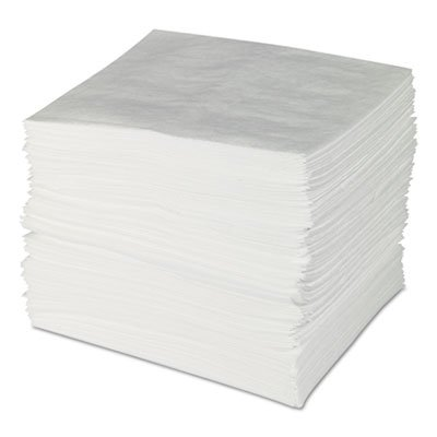 ENV MAXX Enhanced Oil Sorbent Pads, .24gal, 15w x 19l, White, ()