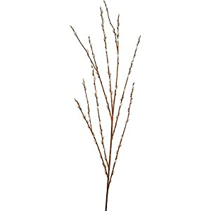 57 Inch Pussy Willow Spray Signature Foliage 79