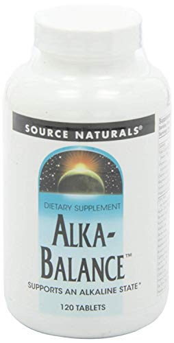 Powder Alkalizing (Source Naturals Alkaline Balance - 120 Tablets)