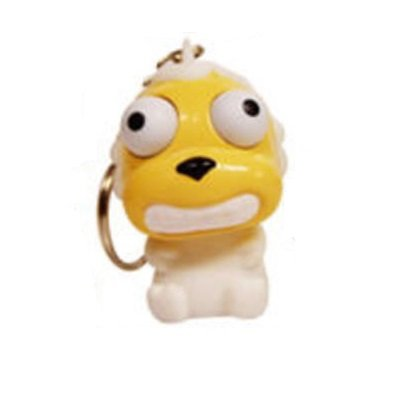 Cute Squishies * Animal Eye Poppers Set of 12 (+ 1 Eye Popper Key chain included)