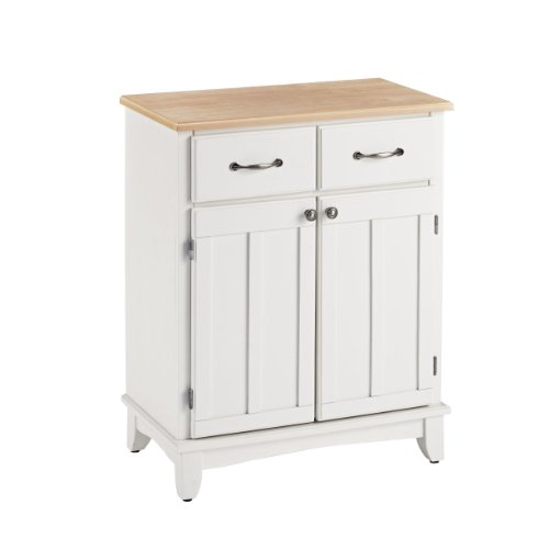 - Home Styles 5001-0021 Buffet of Buffets 5001 Series Wood Top Buffet Server, White Finish