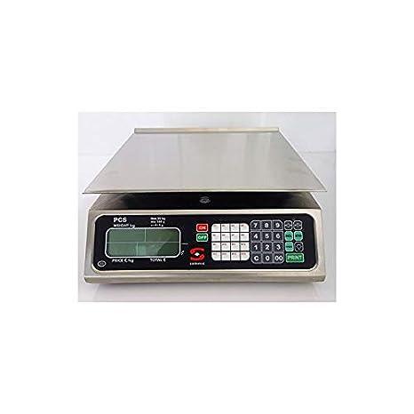 fimel - Báscula prezzo-peso integrado. Certificación M. 20 kg de capacidad.: Amazon.es: Hogar