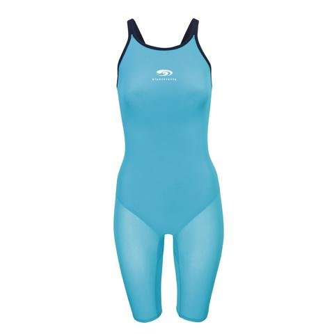Nero Fit Kneeskin Turquoise - Competition Sizing Swimsuit